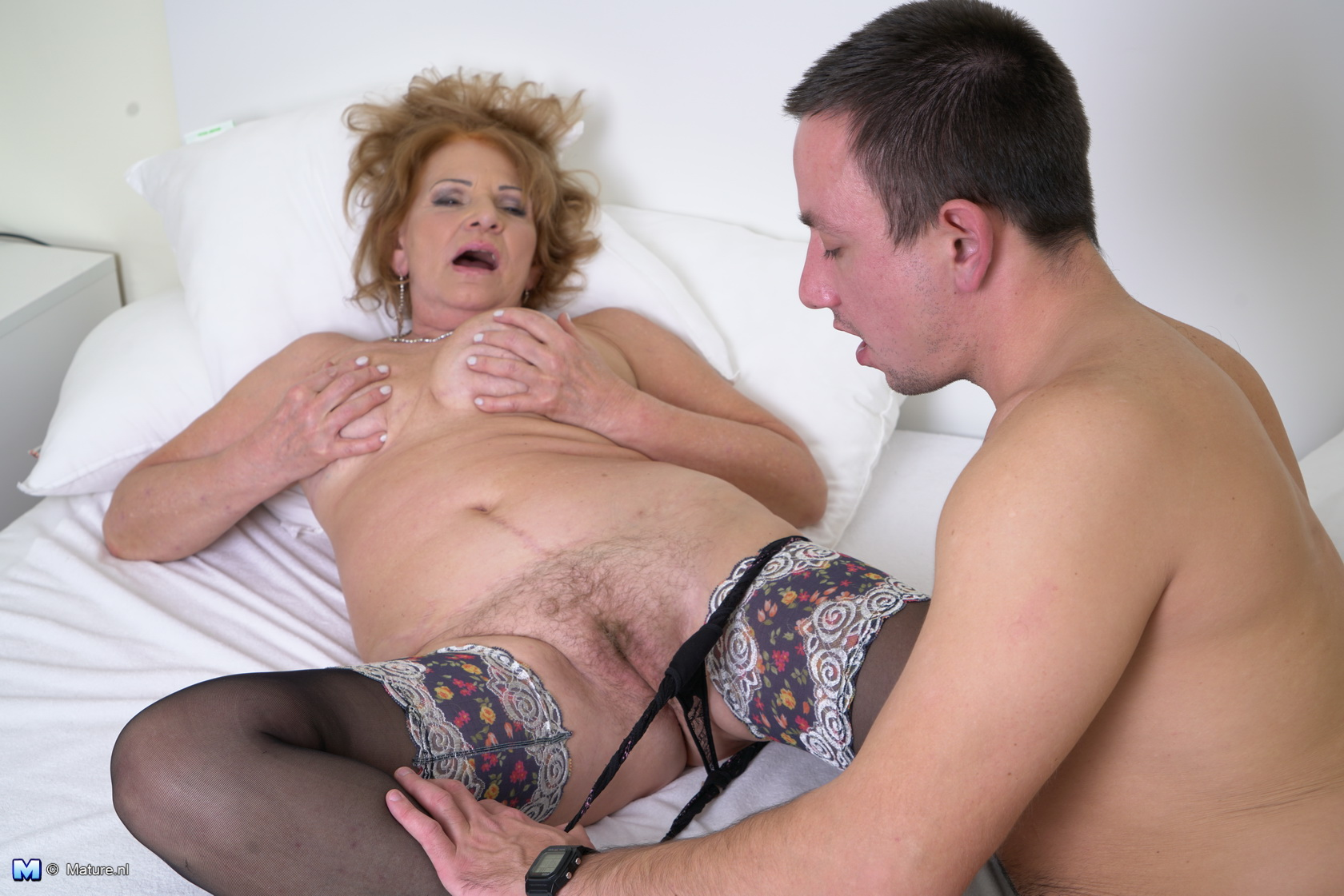 Mature Hairy And Boy